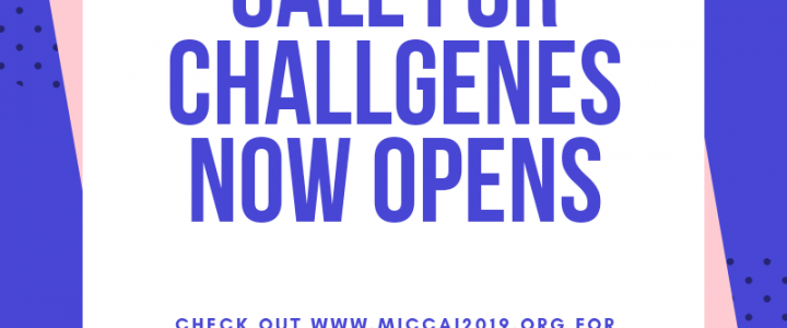 Call for Challenges now opens!